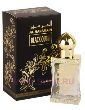 Black Oudh масляные духи Al Haramain