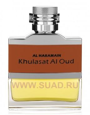 Al Haramain Khulasat Al Oud парфюмерная вода