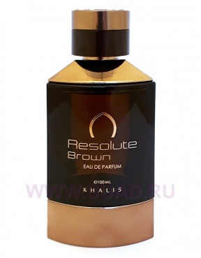 Khalis Resolute Brown Pour Homme парфюмерная вода