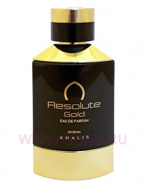 Khalis Resolute Gold Pour Homme парфюмерная вода