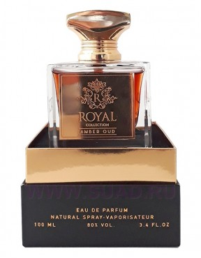 Khalis Royal Collection Amber Oud парфюмерная вода